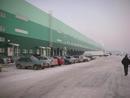 Главный фасад, погрузо-разгрузочнные доки, офисная зона